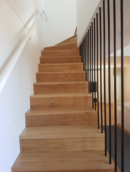 Contemporary Steel Balustrade Staircases - Timeless Staircases Melbourne