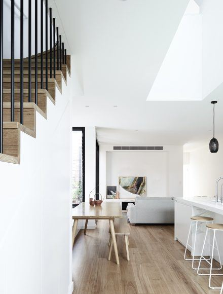 Contemporary Staircase - Timeless Staircases Melbourne