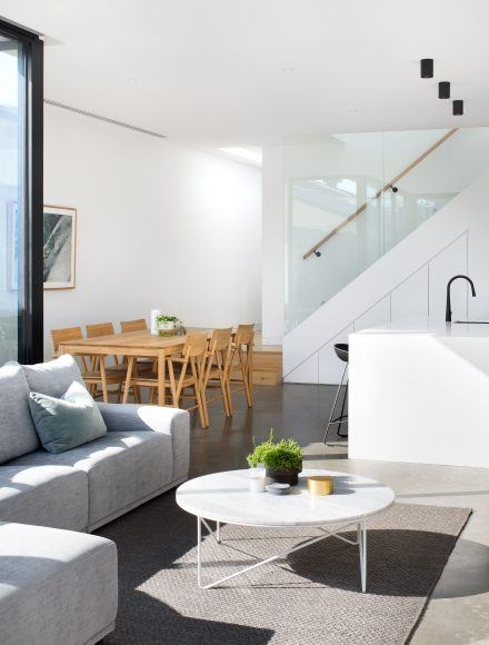 Contemporary Staircase Glass Balustrade Melbourne- Timeless Staircases