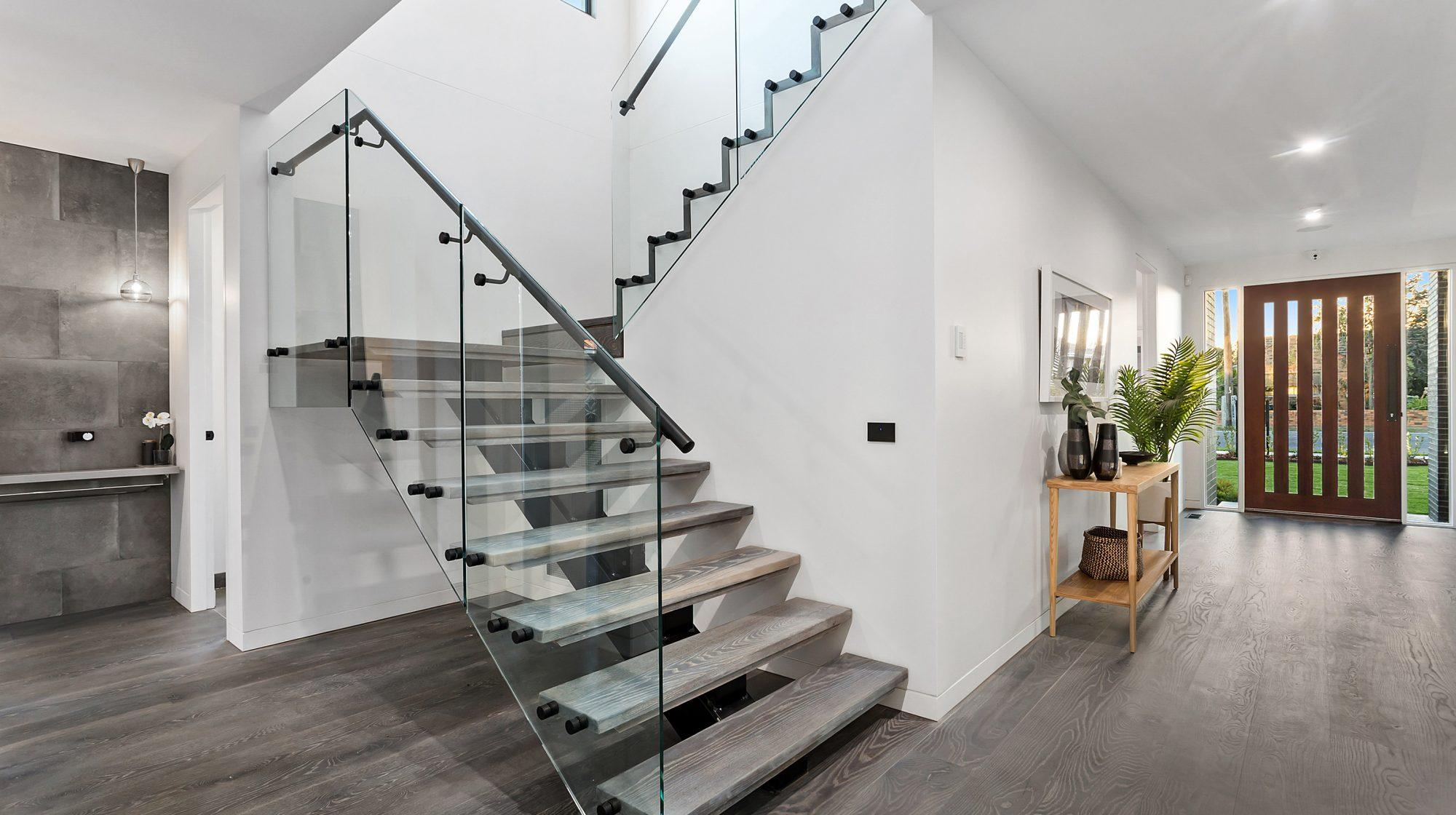 Custom Balustrade Staircase - Timeless Staircases Melbourne