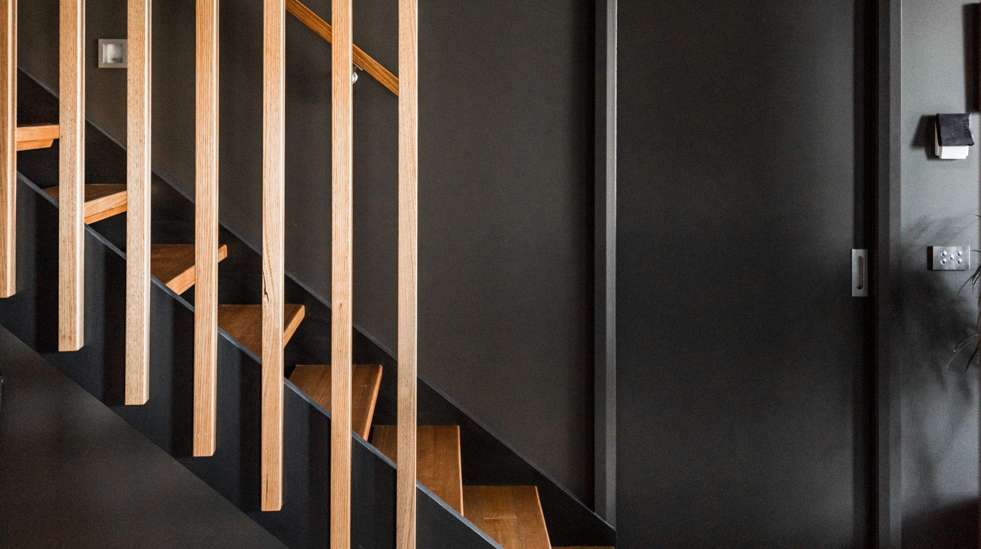 Wooden Balustrade Staircase - Timeless Staircases Melbourne